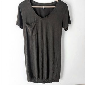 Z Supply t shirt dress size small worn once